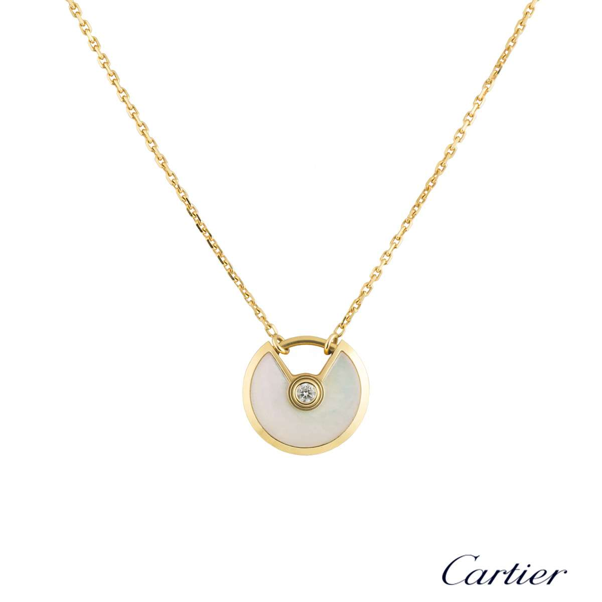 Cartier Amulette De Cartier Necklace